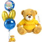 Bouquet de globos para padres¿Te imaginas la cara que pondrá tu padre al recibirlo en el trabajo? ¡Vivan los globos!